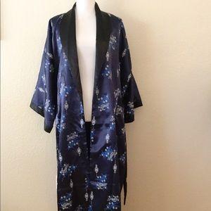 Asian Kimono Robe Reversible